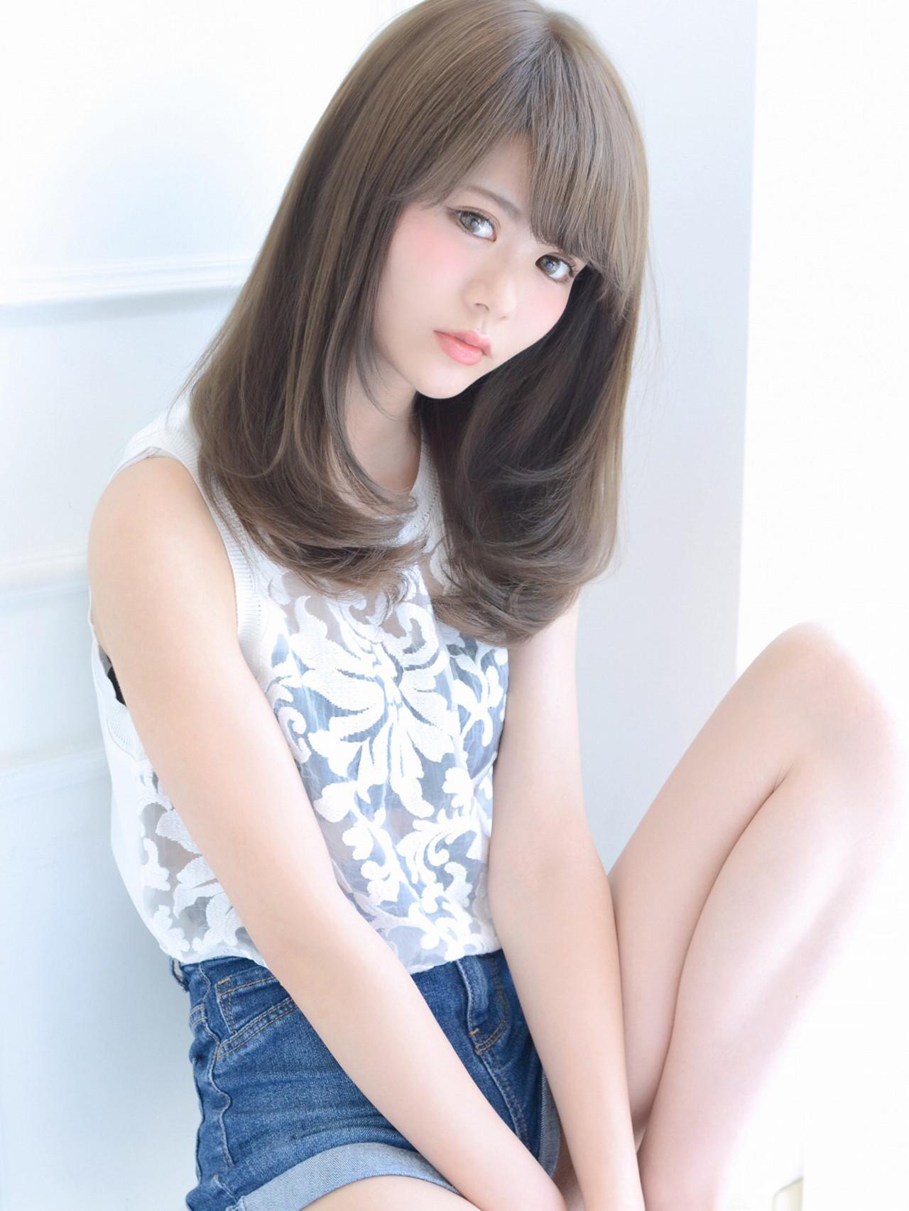 絶対可愛い人気ヘア!セミロング×パーマでモテ女子に変身しよう 清井 慎二 ☆Dice☆