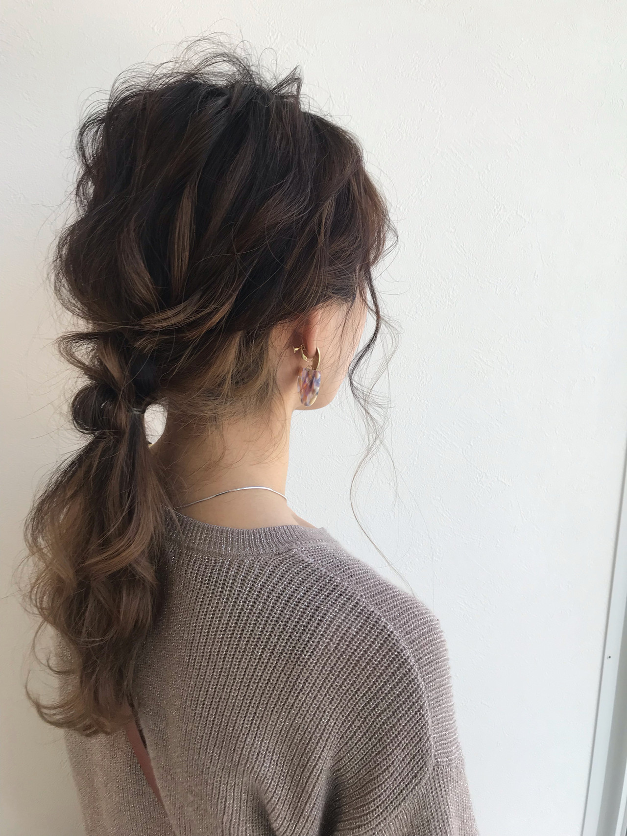 ナチュラル ハイライト ヘアアレンジ 3Dハイライト ヘアスタイルや髪型の写真・画像   役谷茜音 / VIRAL(ヴァイラル)