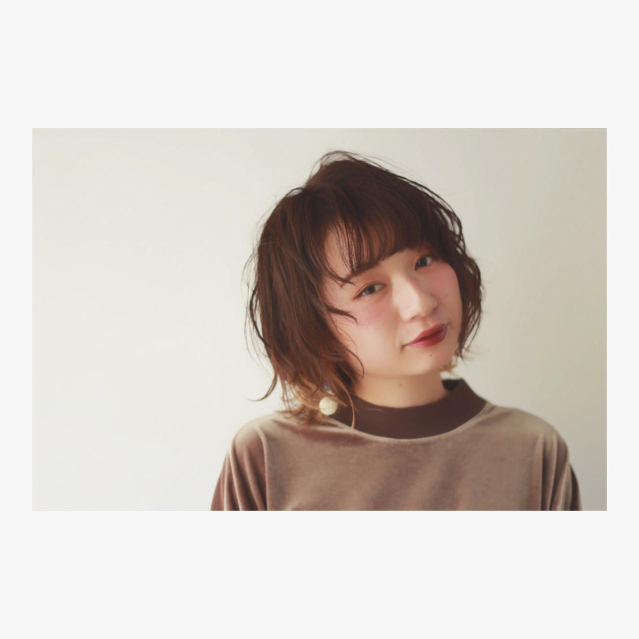 ニュアンス グラデーションカラー ストリート パーマ ヘアスタイルや髪型の写真・画像   小池良佳 / ZENKO