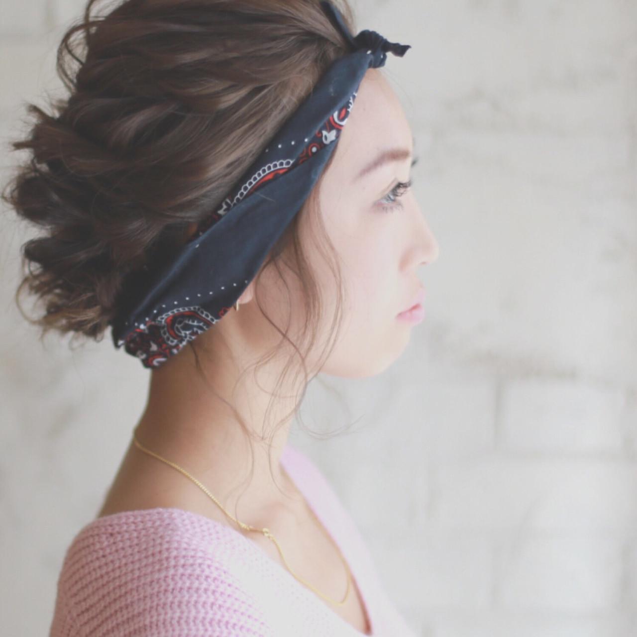 フェミニン 簡単ヘアアレンジ ゆるふわ パーティ ヘアスタイルや髪型の写真・画像 | 廣田哲也 / nalu hair
