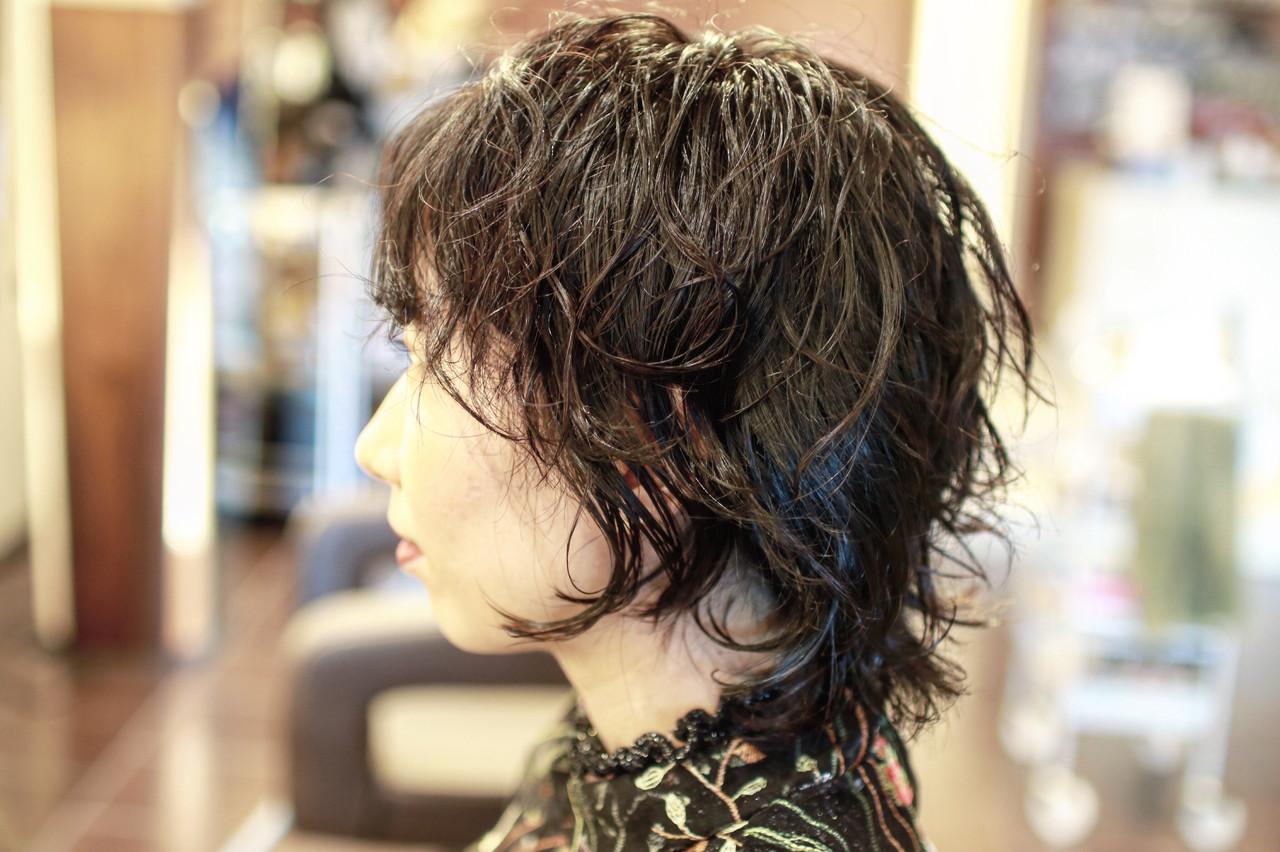 アウトドア 結婚式 黒髪 ヘアアレンジ ヘアスタイルや髪型の写真・画像   京都/片山 勇馬/ショート / snob