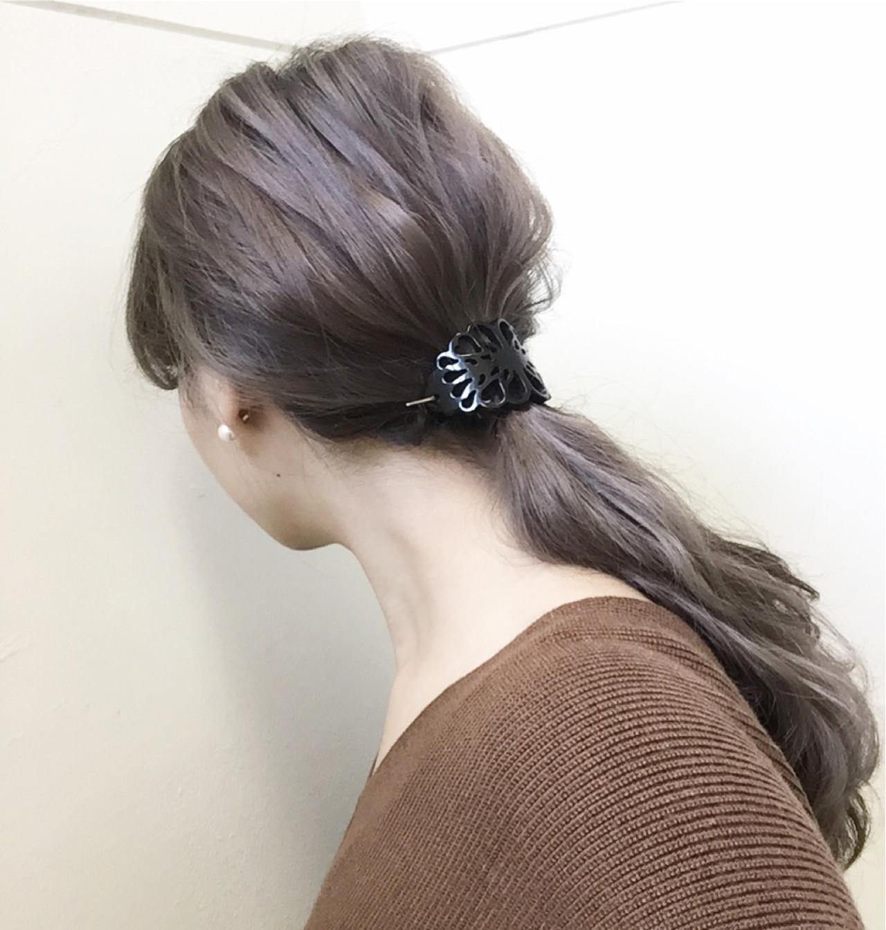 ハイライト アッシュ 大人女子 ショート ヘアスタイルや髪型の写真・画像 | Shokoxxx / hair salon kette