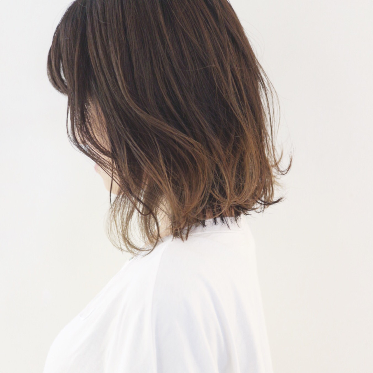 外国人風 グラデーションカラー ハイライト ボブ ヘアスタイルや髪型の写真・画像 | 三好 佳奈美 / Baco.(バコ)