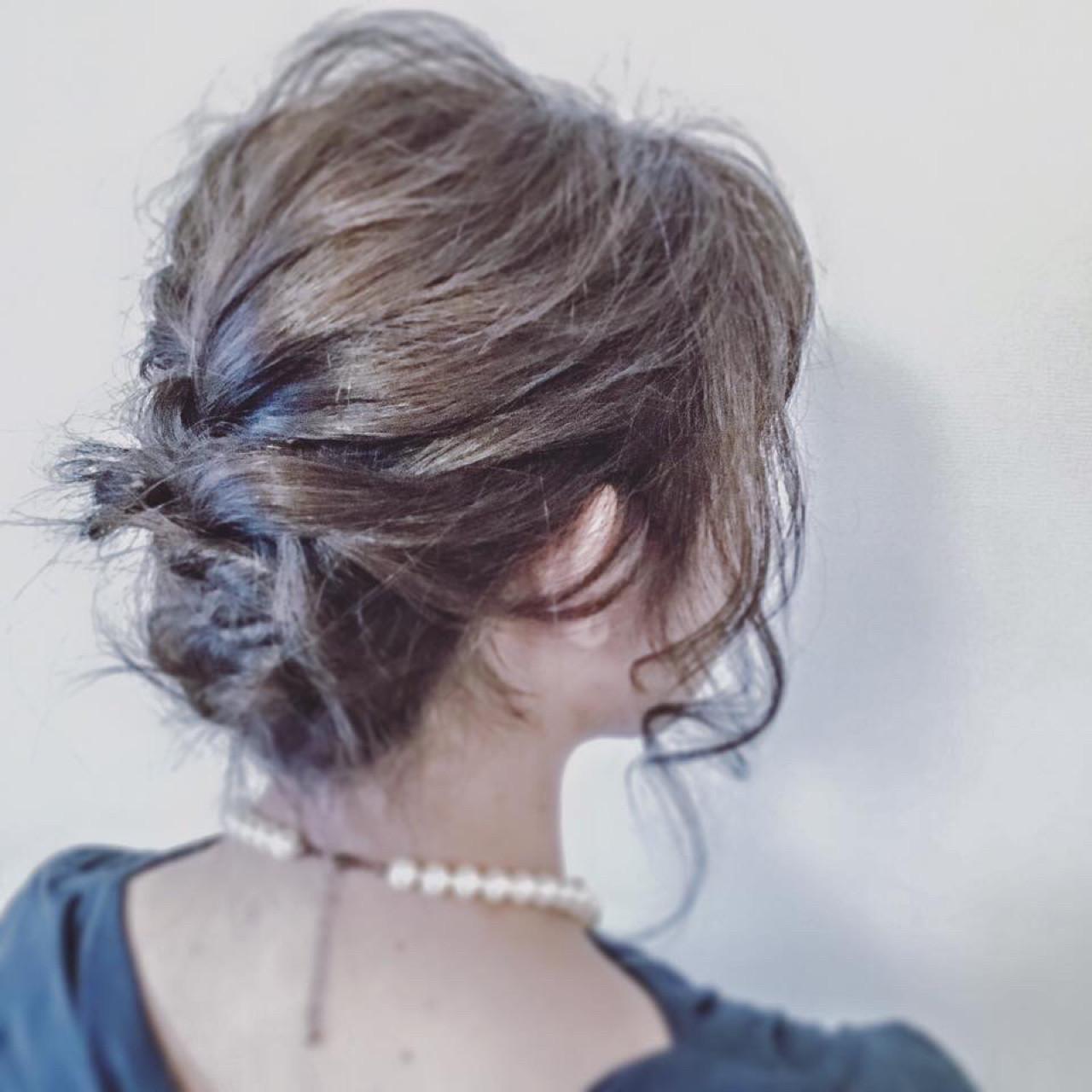 上品 ヘアアレンジ フェミニン 大人女子 ヘアスタイルや髪型の写真・画像 | 吉浦正和 / beauty salon MARRY