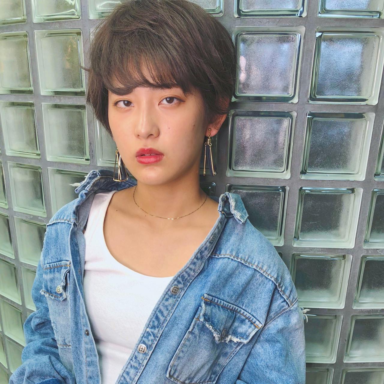 ショート かっこいい 大人女子 女子力ヘアスタイルや髪型の写真・画像