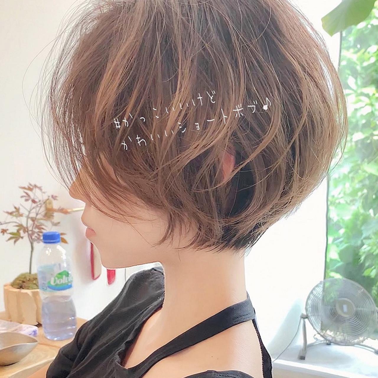 パーマ ショートボブ ヘアアレンジ ショート ヘアスタイルや髪型の写真・画像   ショートボブの匠【 山内大成 】『i.hair』 / 『 i. 』 omotesando