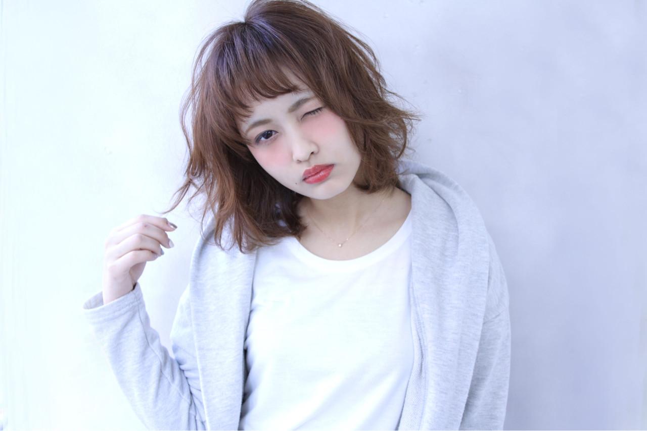 ゆるふわ 前髪あり 外国人風 外ハネ ヘアスタイルや髪型の写真・画像   清水 孝純 / Rose