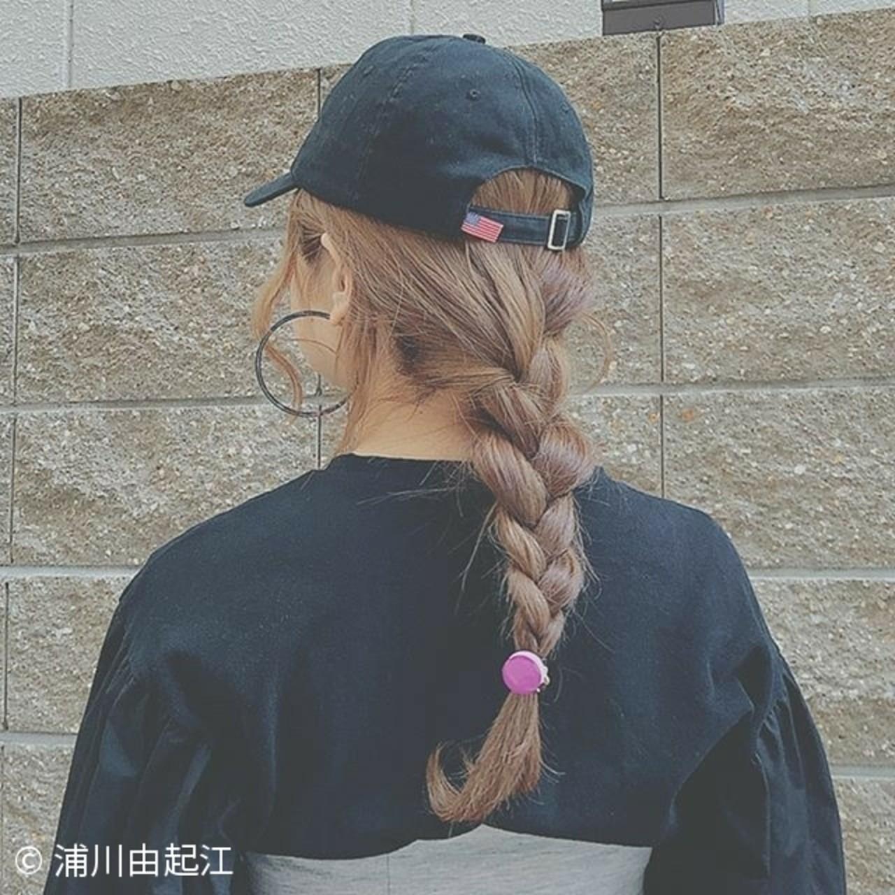 ヘアアレンジ ゆるふわ フェミニン ロング ヘアスタイルや髪型の写真・画像 | 浦川由起江 / nanon