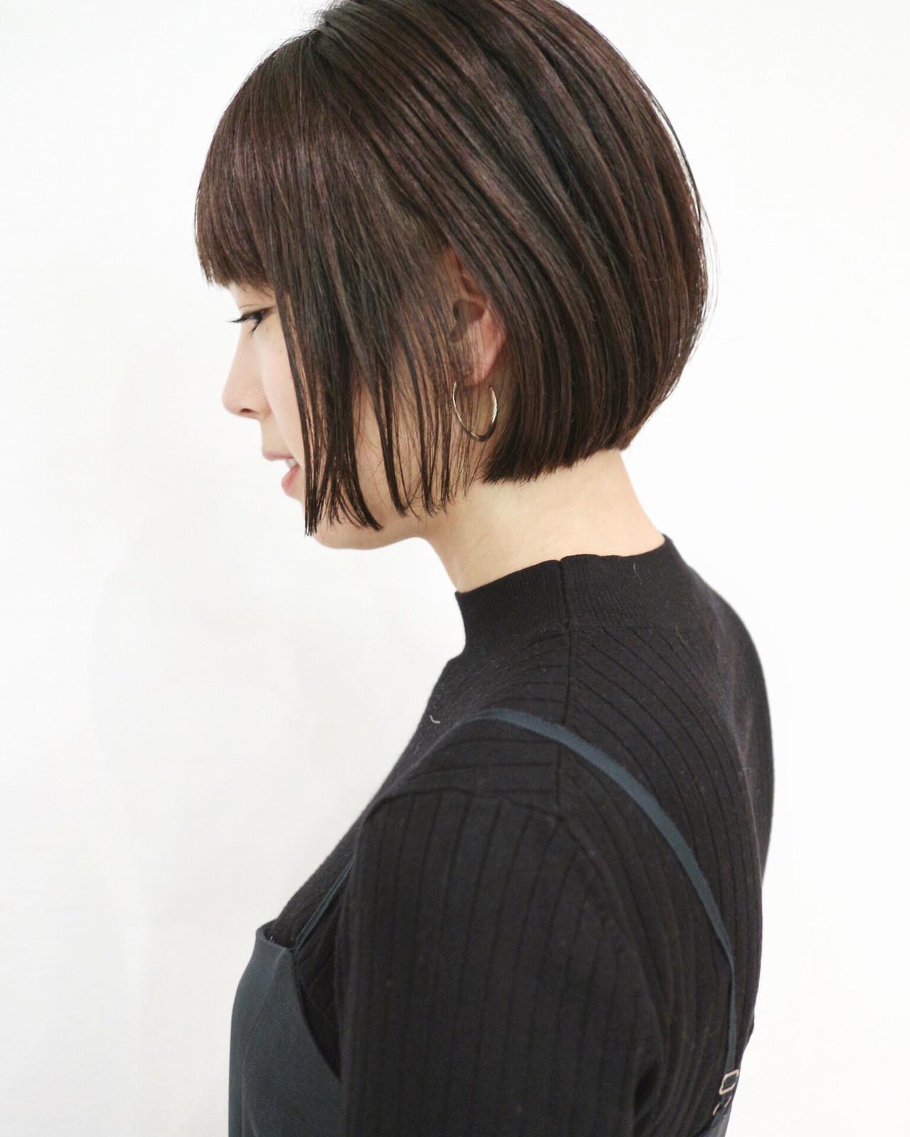 グレーアッシュ アッシュ ショートヘア ショート ヘアスタイルや髪型の写真・画像   三好 佳奈美 / Baco.(バコ)