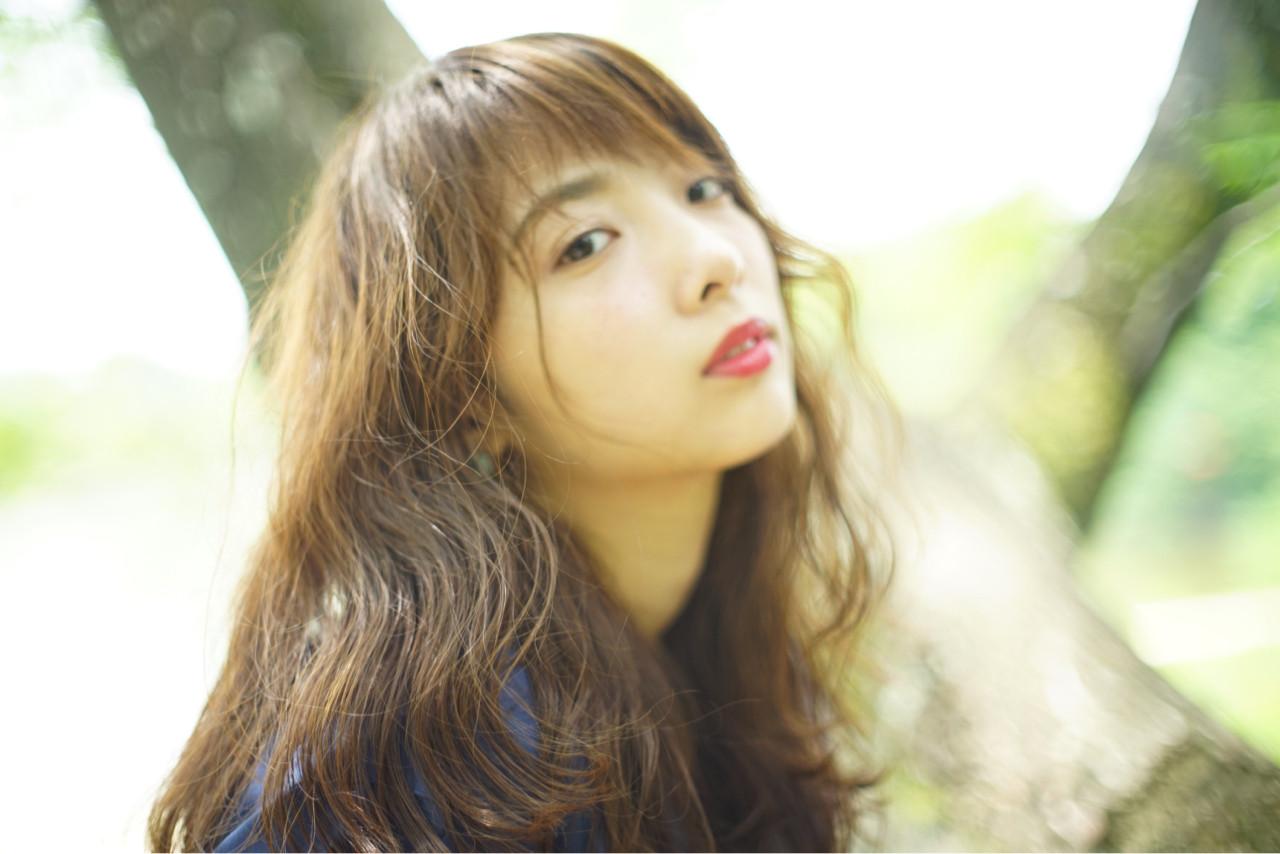 外国人風 ストリート ロング ピュア ヘアスタイルや髪型の写真・画像 | Obayashi Natsumi /