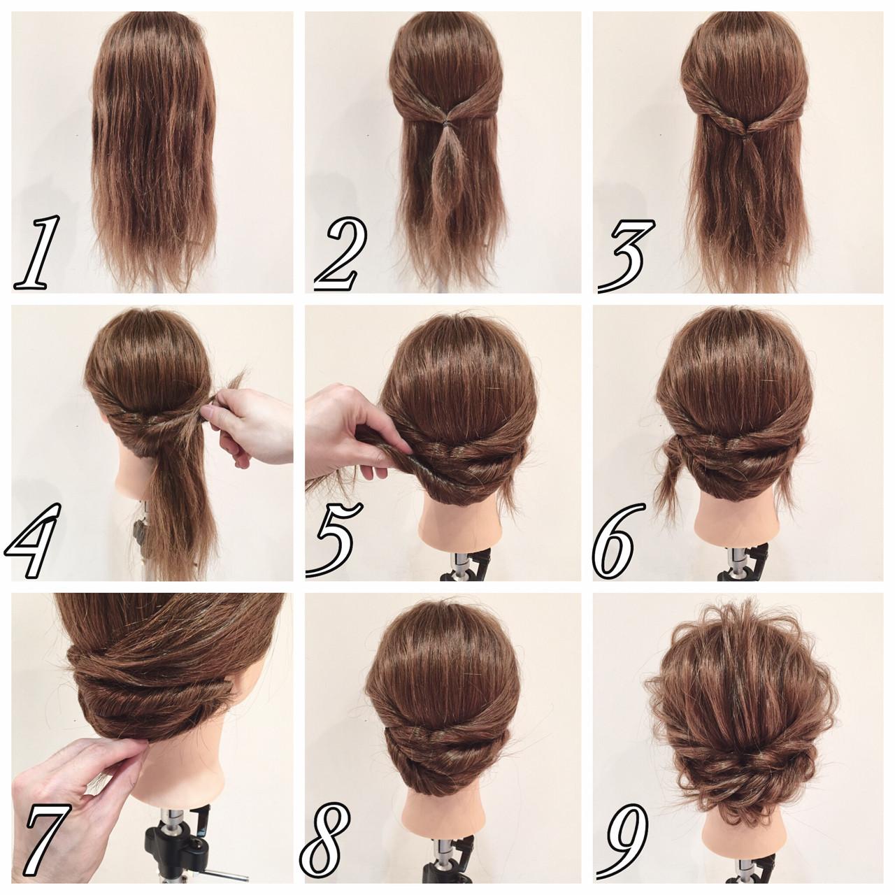 セルフで簡単ヘアアレンジ!成人式の二次会にオススメしたい髪型4選。 【hair】