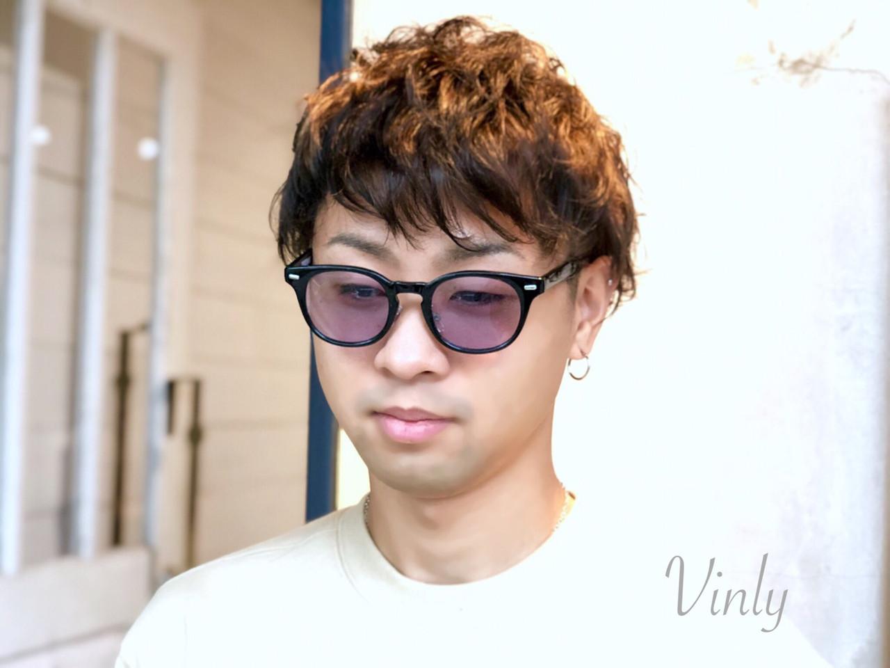 デート ショート 簡単ヘアアレンジ スポーツ ヘアスタイルや髪型の写真・画像 | norihiko yoshimoto / Vinly hair salon