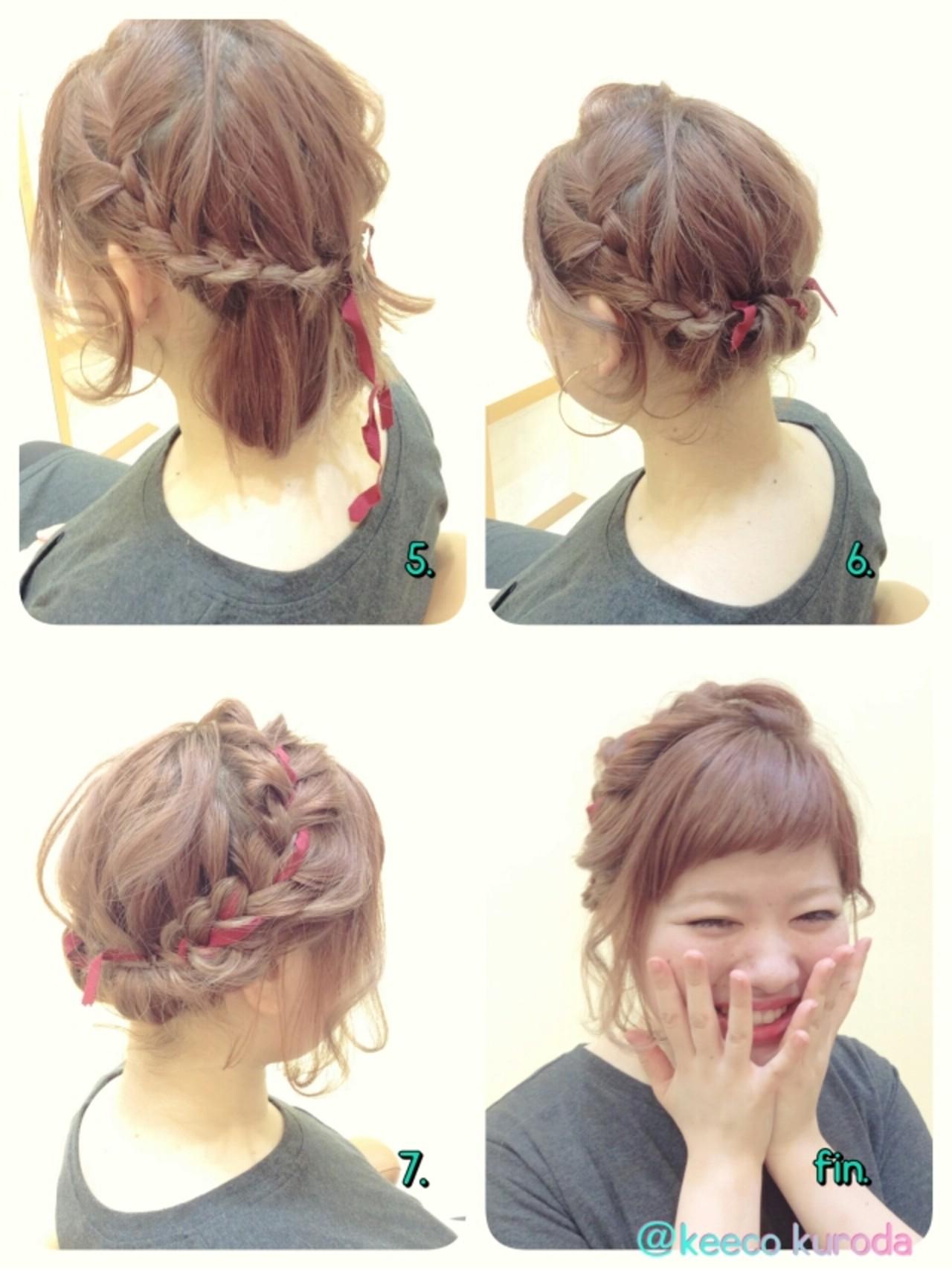 """テーマは""""イマドキ""""の髪型。夏の浴衣ヘアアレンジ9選♡ 黒田 景子 / MORIO FROM LONDON"""