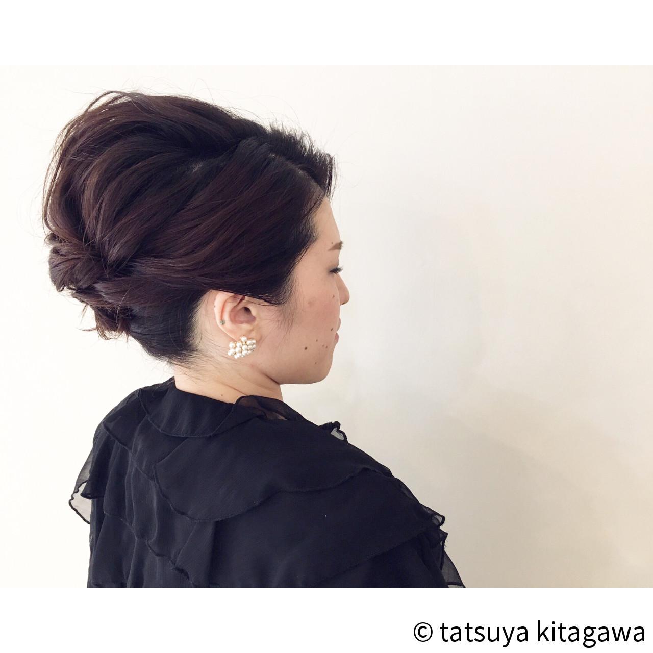 アップスタイル 上品 外国人風 ヘアアレンジ ヘアスタイルや髪型の写真・画像   tatsuya kitagawa / clarity 京都駅前本店