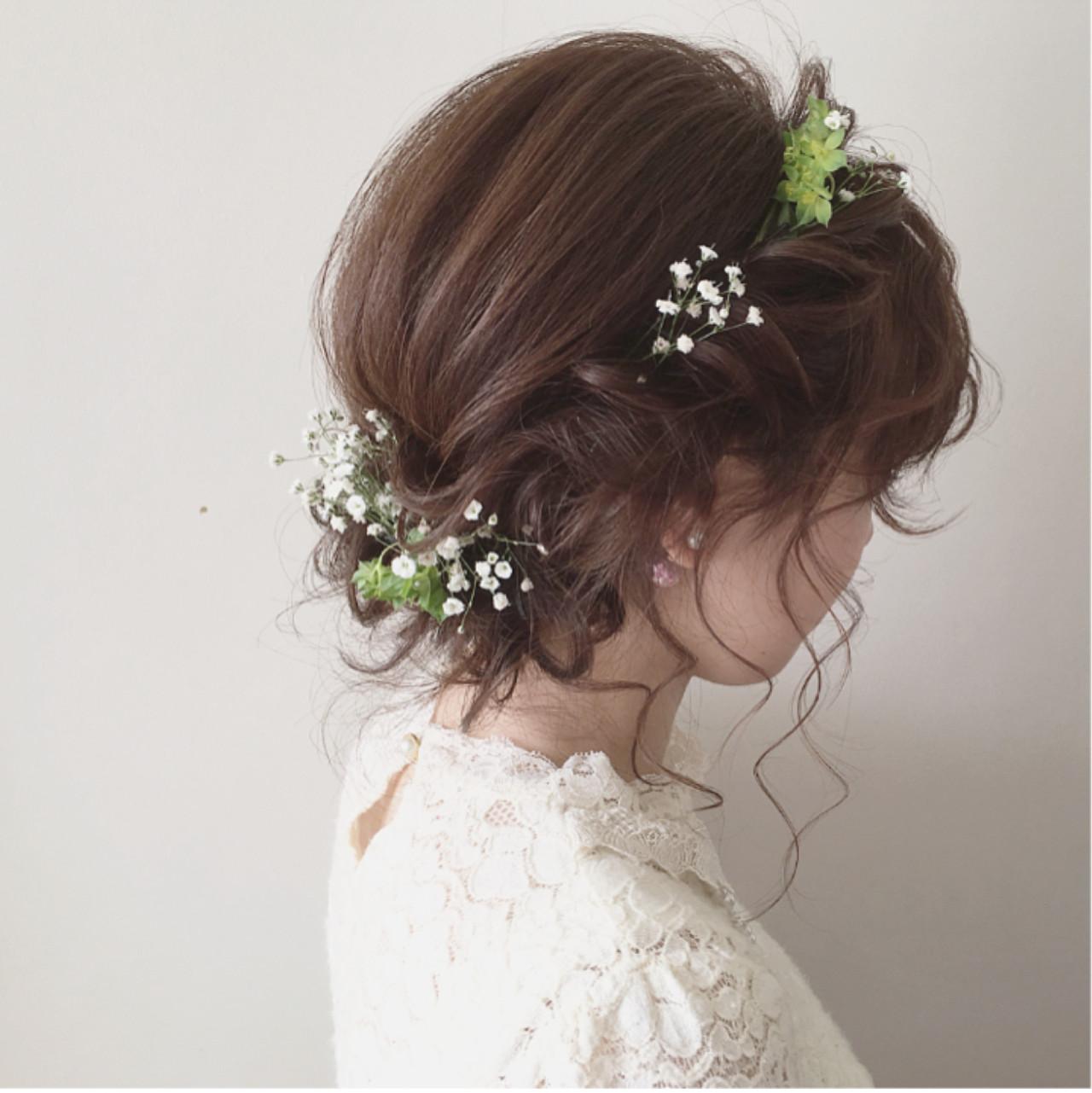 花咲く季節。頭にもお花を咲かせませんか? tomoya tamada / Freelance_hairmake