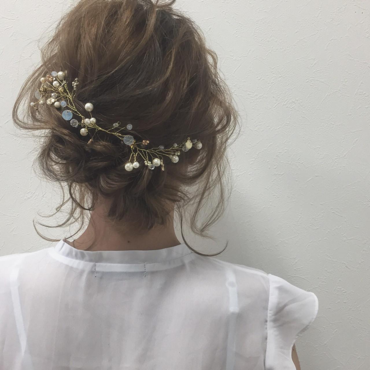 ふわふわ 色気 ショート ガーリーヘアスタイルや髪型の写真・画像