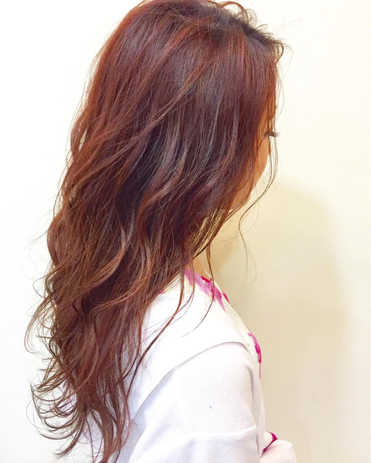 おフェロ 透明感 ベージュ ピンク ヘアスタイルや髪型の写真・画像 | 羽鳥 克哉 / kellys green