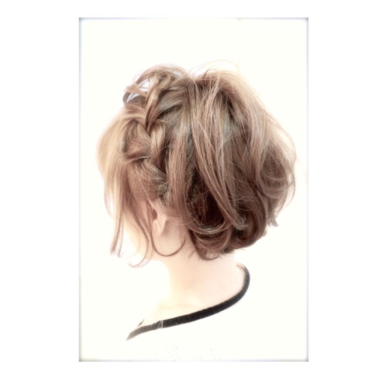 [詳しい方法付き]毎日をオシャレに飾りたい!誰でもできる簡単ヘアアレンジ特集 出典:Takumi / Beronic