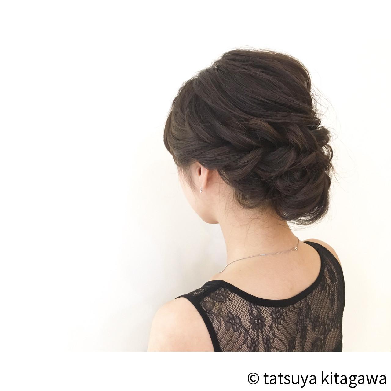 ゆるふわ 結婚式 セミロング 外国人風 ヘアスタイルや髪型の写真・画像 | tatsuya kitagawa / clarity 京都駅前本店