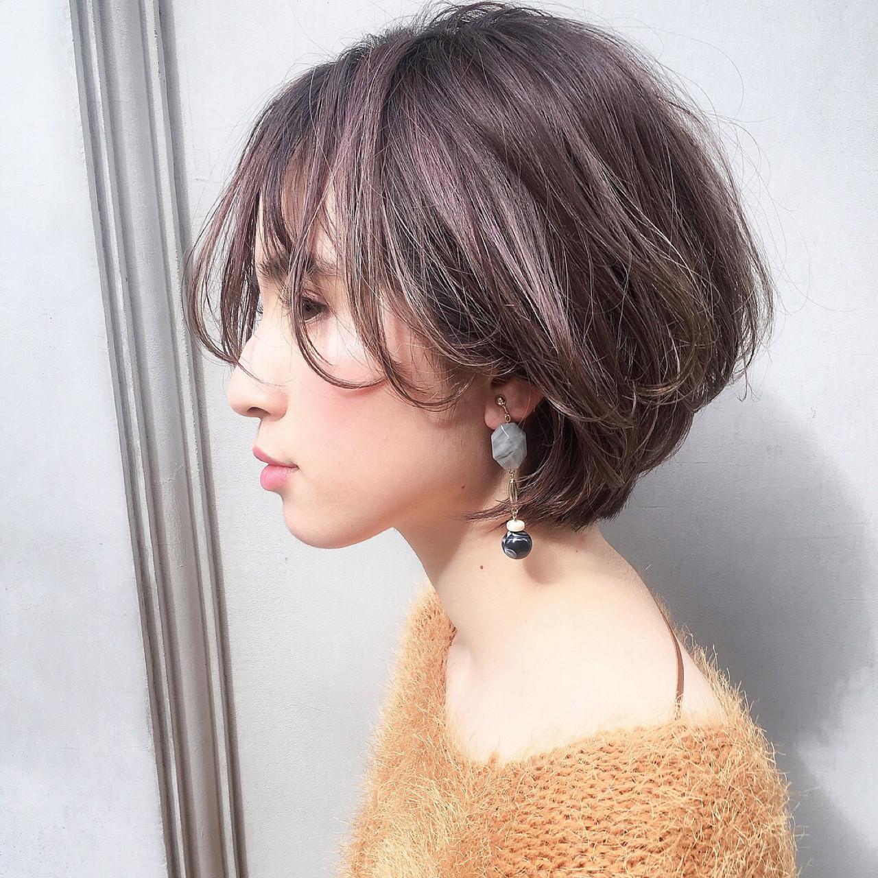アンニュイ ヘアアレンジ 大人かわいい ボブ ヘアスタイルや髪型の写真・画像 | ショートボブの匠【 山内大成 】『i.hair』 / 『 i. 』 omotesando