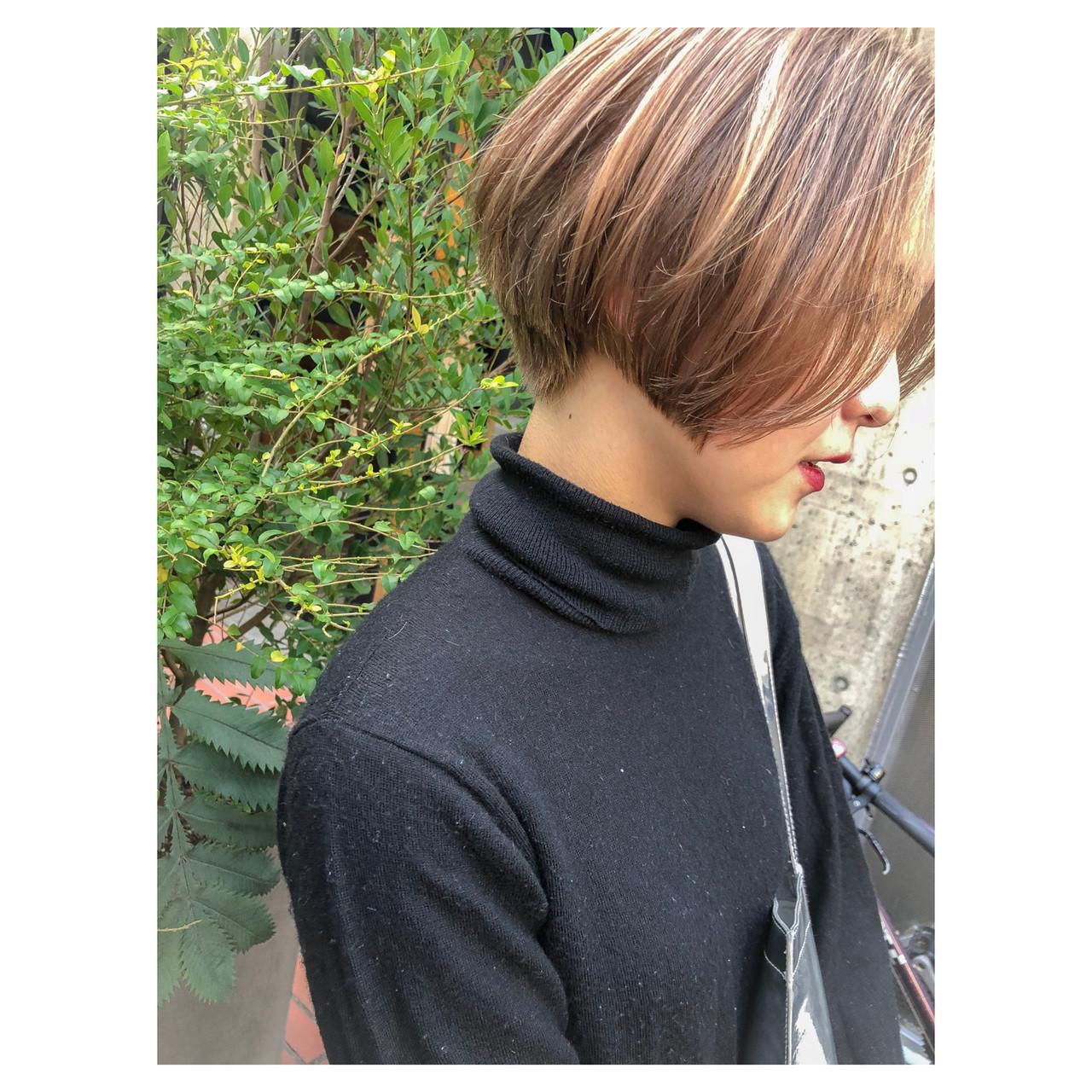 ボブ かっこいい 似合わせ モード ヘアスタイルや髪型の写真・画像 | shooooki / GO TODAY SHAiRE SALON渋谷