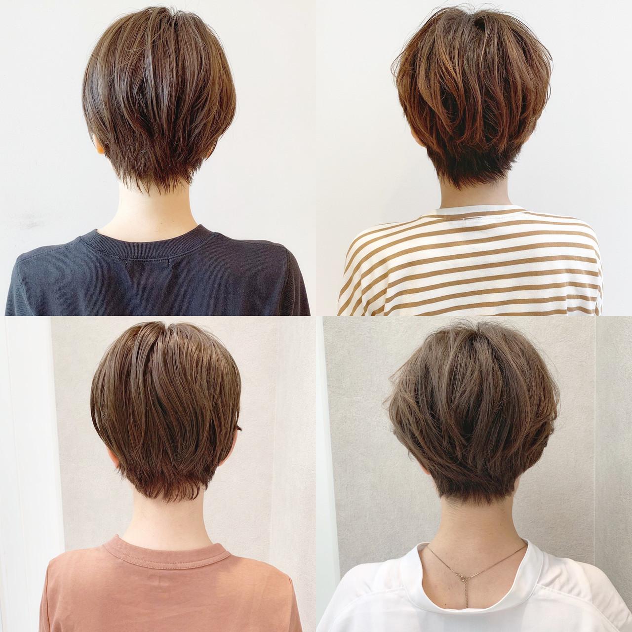 パーマ スポーツ 黒髪 ショート ヘアスタイルや髪型の写真・画像 | ショートヘア美容師 #ナカイヒロキ / 『send by HAIR』