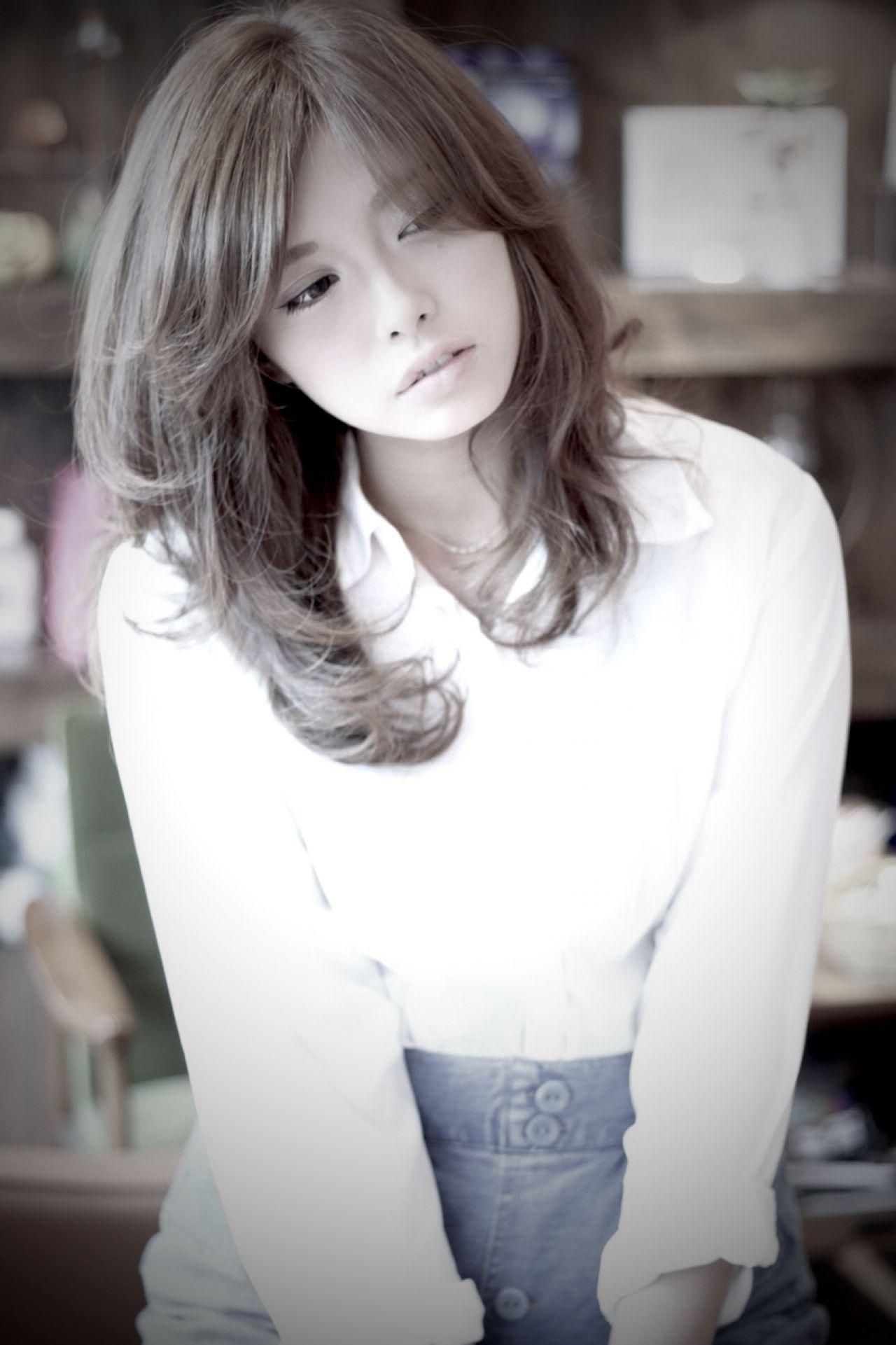 モテ髪 大人かわいい ナチュラル 愛され ヘアスタイルや髪型の写真・画像 | 羽田 雅俊/SHOUT / SHOUT