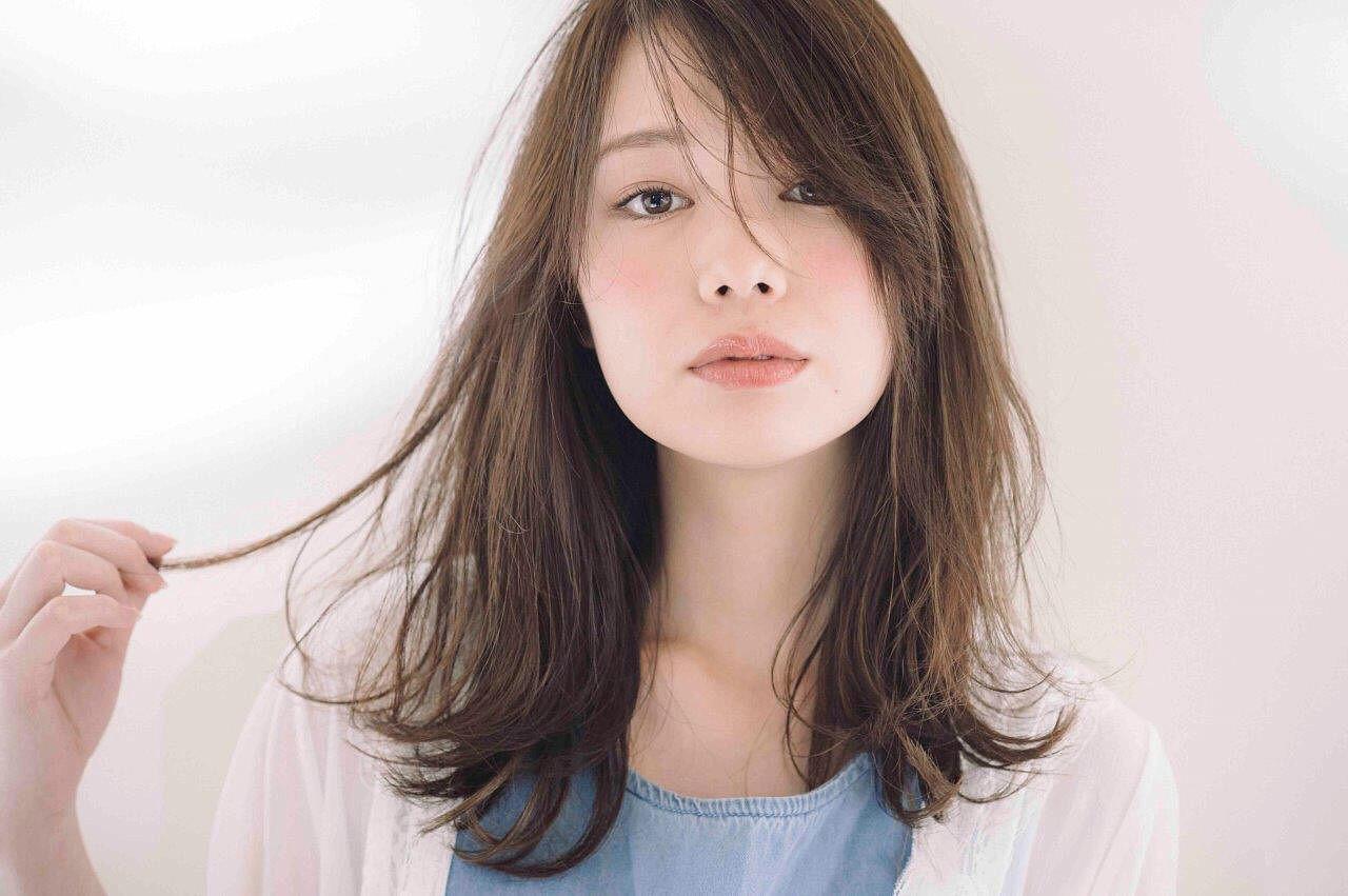 モード ゆるふわ アンニュイ ベージュ ヘアスタイルや髪型の写真・画像 | 伊藤愛子 GARDEN / GARDEN  omotesando