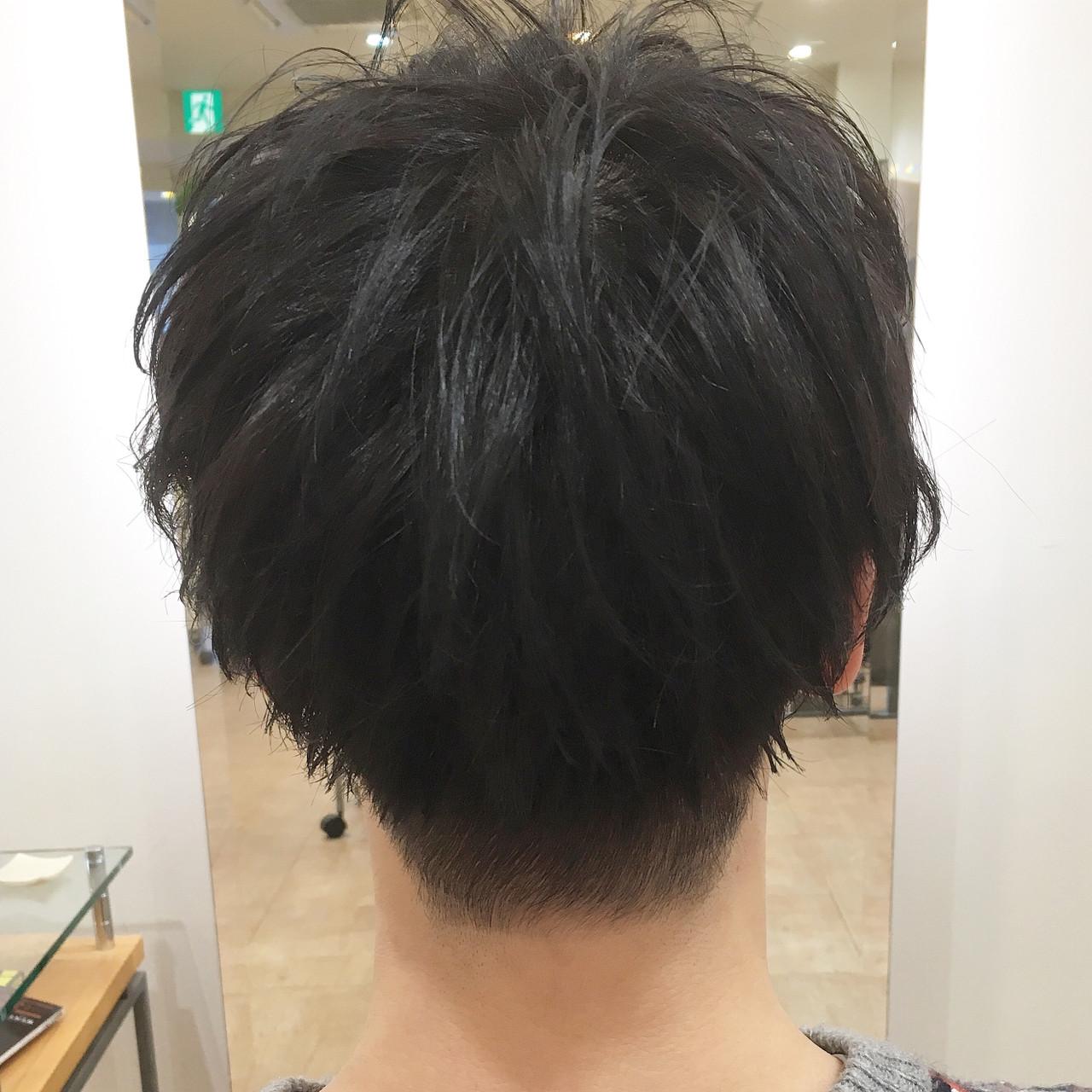メンズショート マッシュ 刈り上げ メンズ ヘアスタイルや髪型の写真・画像 | 平本 詠一 / fabris