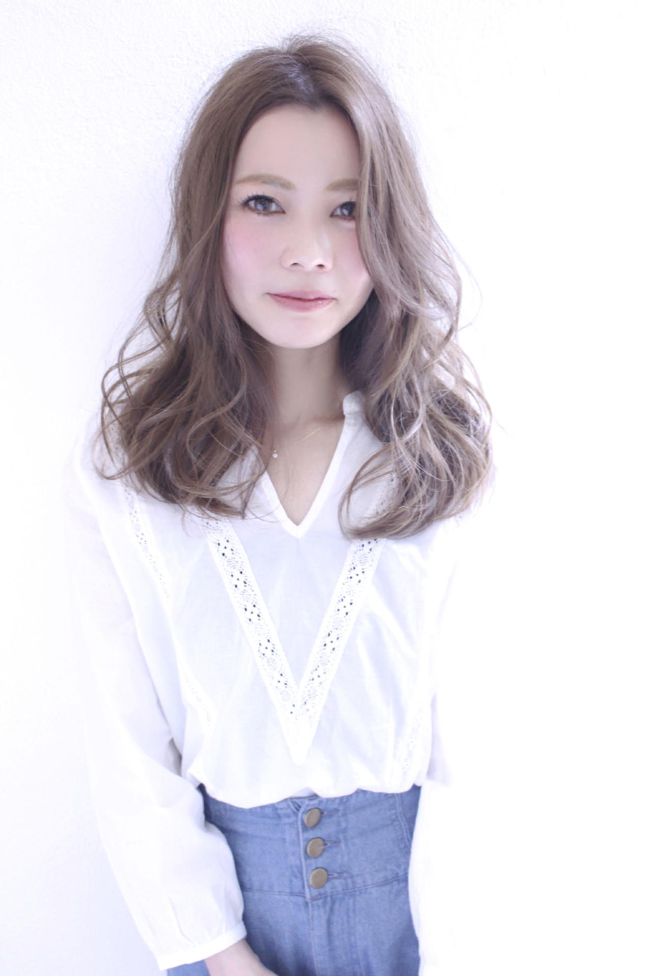 外国人風 大人かわいい ストリート ゆるふわ ヘアスタイルや髪型の写真・画像   浅川 悠平 / calmLY HAIR