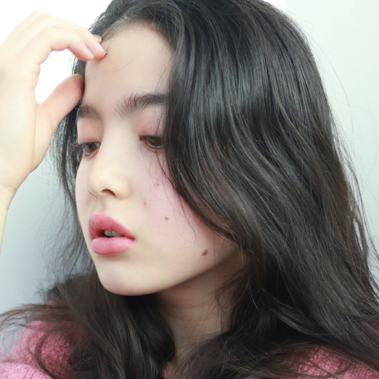 大人かわいい 外国人風 ナチュラル 暗髪 ヘアスタイルや髪型の写真・画像 | 高橋 忍 / nanuk渋谷店(ナヌーク)