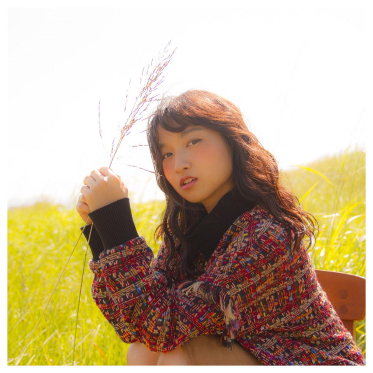 デート 秋 アウトドア 透明感 ヘアスタイルや髪型の写真・画像 | 岩切陽平 / Hair&Beauty AURA