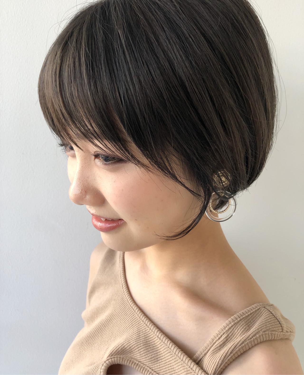 ハンサムショート ヘアアレンジ ナチュラル マッシュショート ヘアスタイルや髪型の写真・画像 | 木村 直継 / Ash 東戸塚