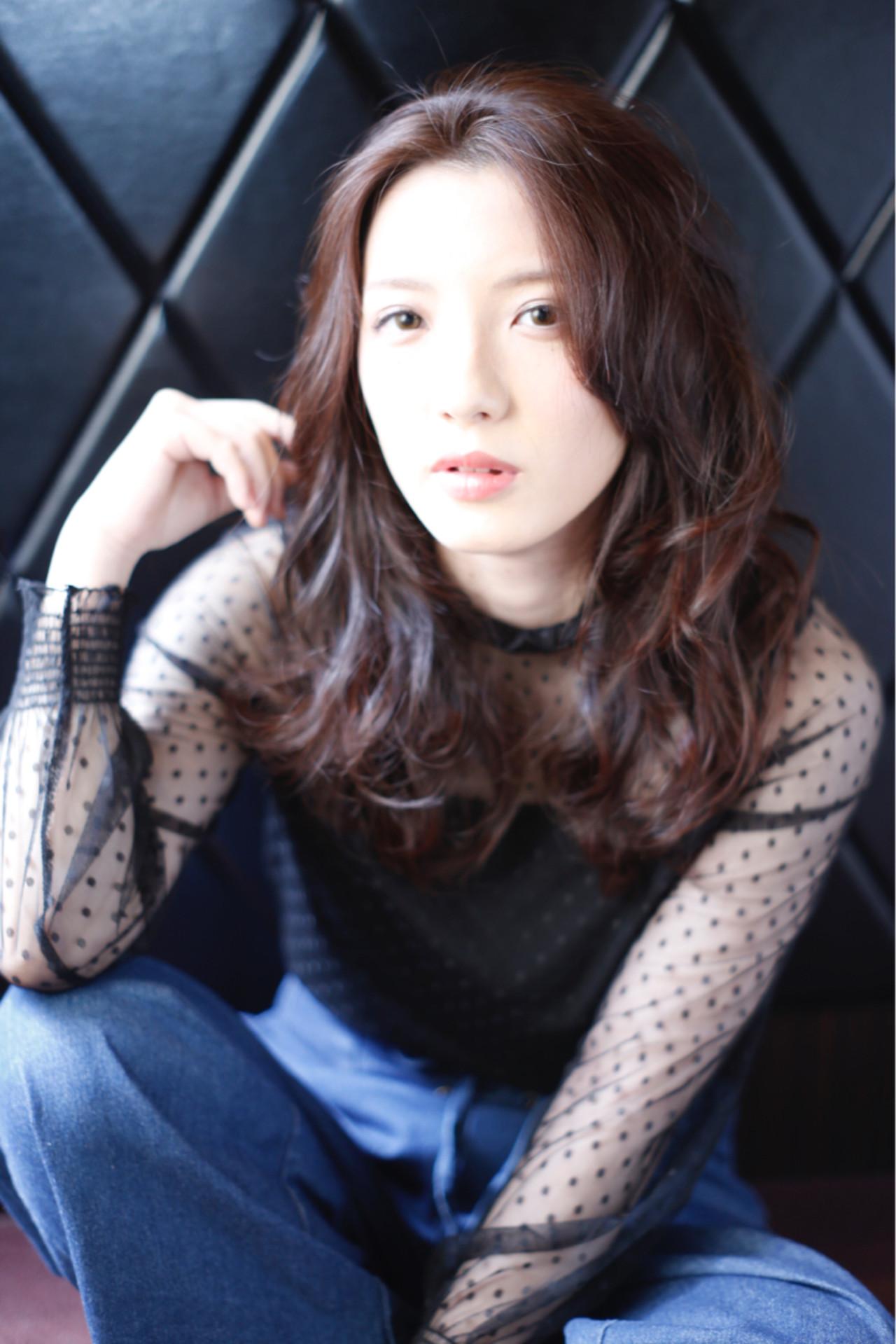 かっこいい エレガント 上品 フェミニン ヘアスタイルや髪型の写真・画像   中村 猛 / MODE K's 塚本店 (モードケイズ)