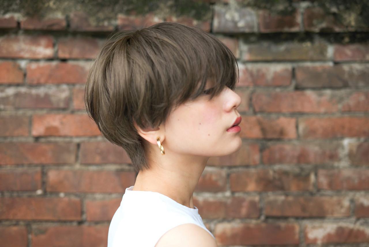 愛され 透明感 似合わせ ショートヘアスタイルや髪型の写真・画像