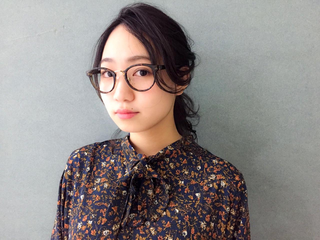 ショート ナチュラル ミディアム 編み込みヘアスタイルや髪型の写真・画像