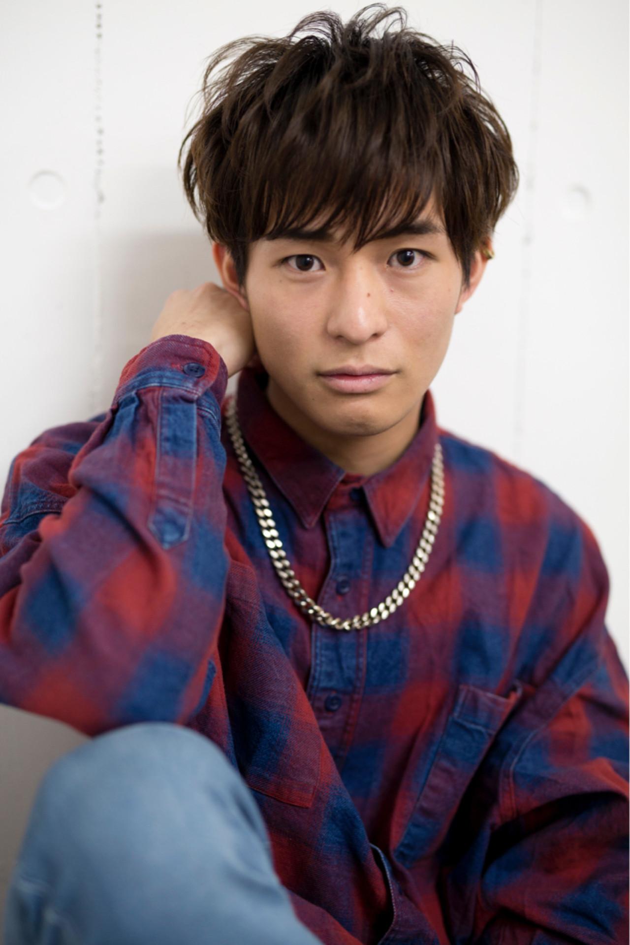 スポーツ ショート ストリート メンズ ヘアスタイルや髪型の写真・画像 | RYOSUKE / MAGNOLiA