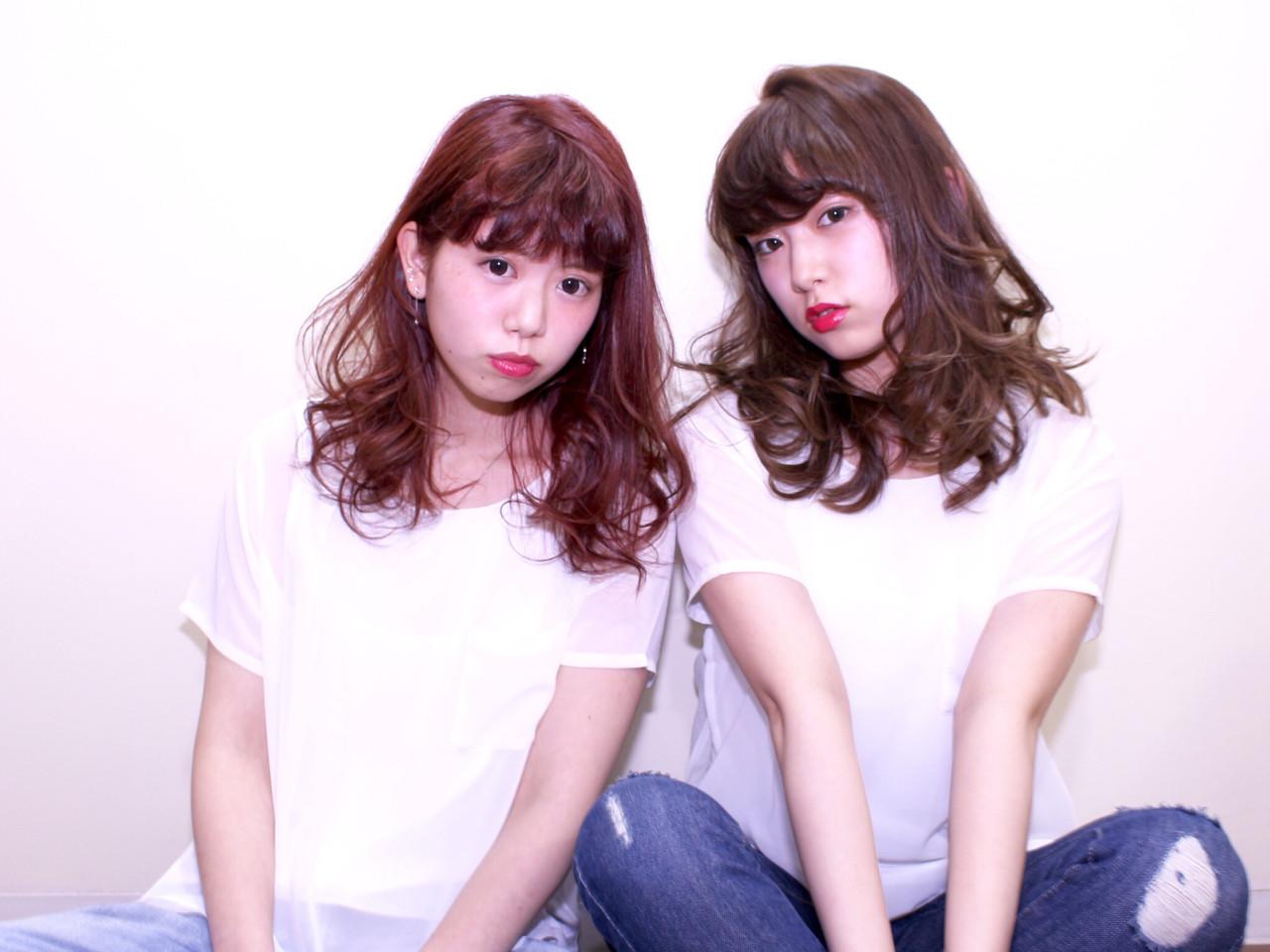 セミロング 外国人風 ゆるふわ ハイライト ヘアスタイルや髪型の写真・画像   川村 葵 / JAP  S salon