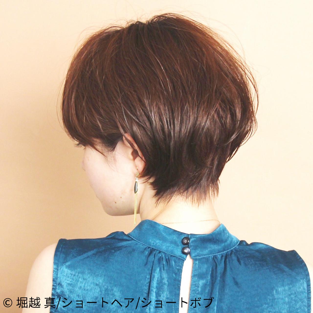 ショートボブ ショートヘア 大人可愛い ショート ヘアスタイルや髪型の写真・画像   堀越 真/ショートヘア/ショートボブ / CIRCUSbyBEAUTRIUM表参道