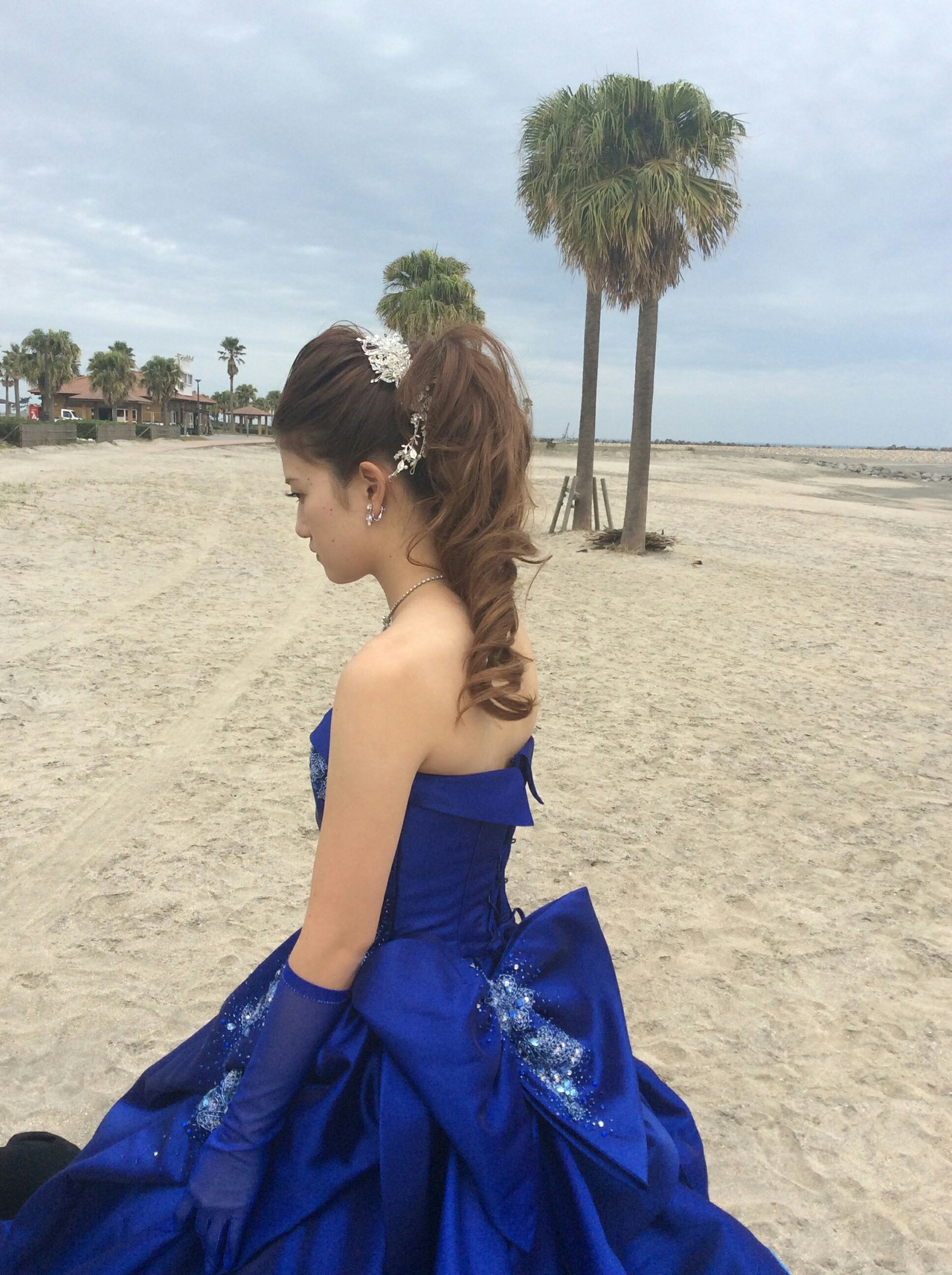 ナチュラル ヘアアレンジ ポニーテール ロング ヘアスタイルや髪型の写真・画像 | rumiLINKS美容室 / リンクス美容室