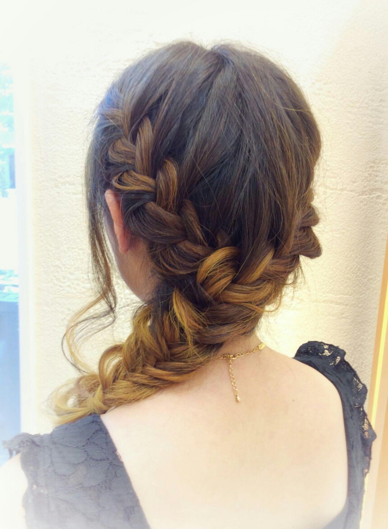 パンク ストリート 外国人風 ヘアアレンジヘアスタイルや髪型の写真・画像