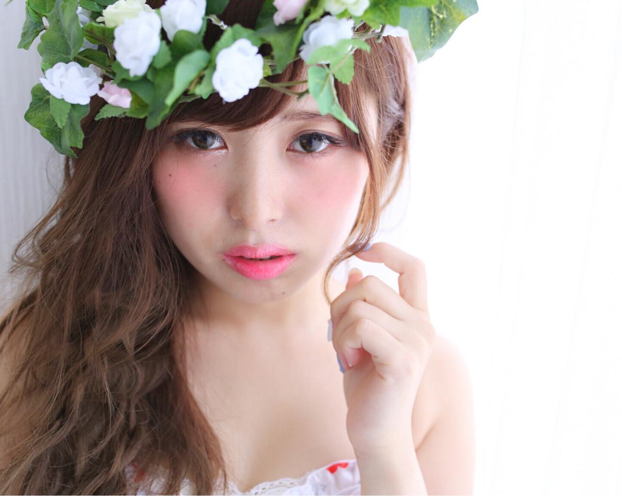 簡単ヘアアレンジ ヘアアレンジ 大人かわいい フェミニン ヘアスタイルや髪型の写真・画像 | 高瀬 功二 / Liliy