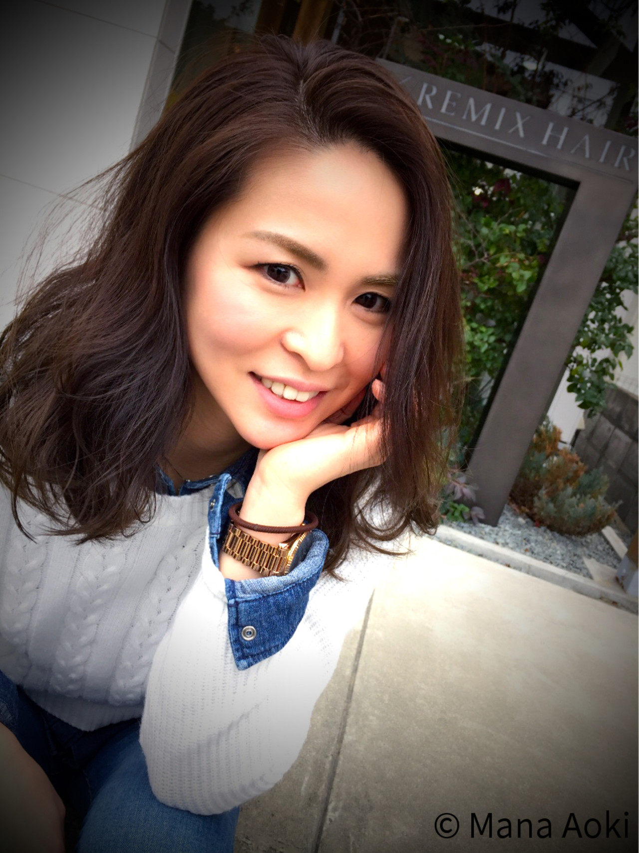 新色で灰白色の透け髪に。2016年春夏は「フレンチカラー」で決まり♪ Mana Aoki / REMIXHAIR