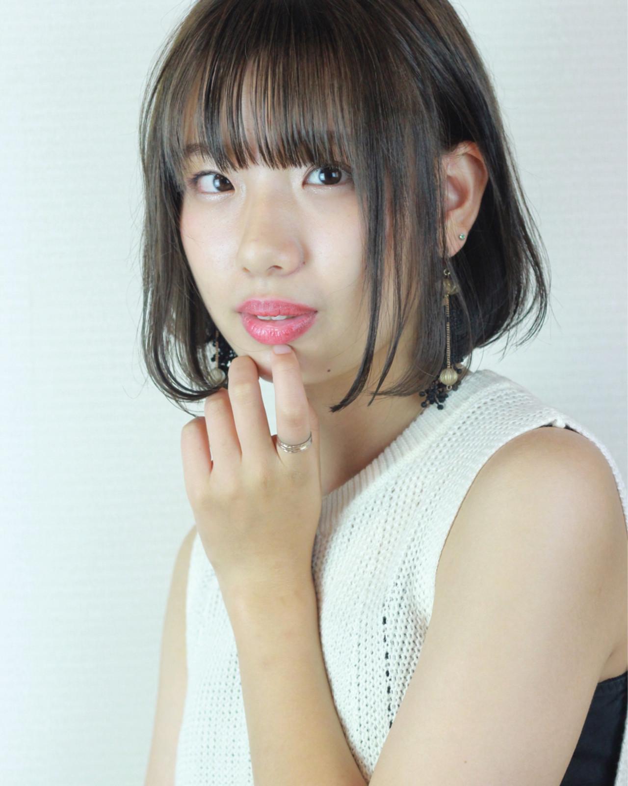フェミニン ナチュラル アッシュ アンニュイ ヘアスタイルや髪型の写真・画像 | 松田 和幸 / tuuli