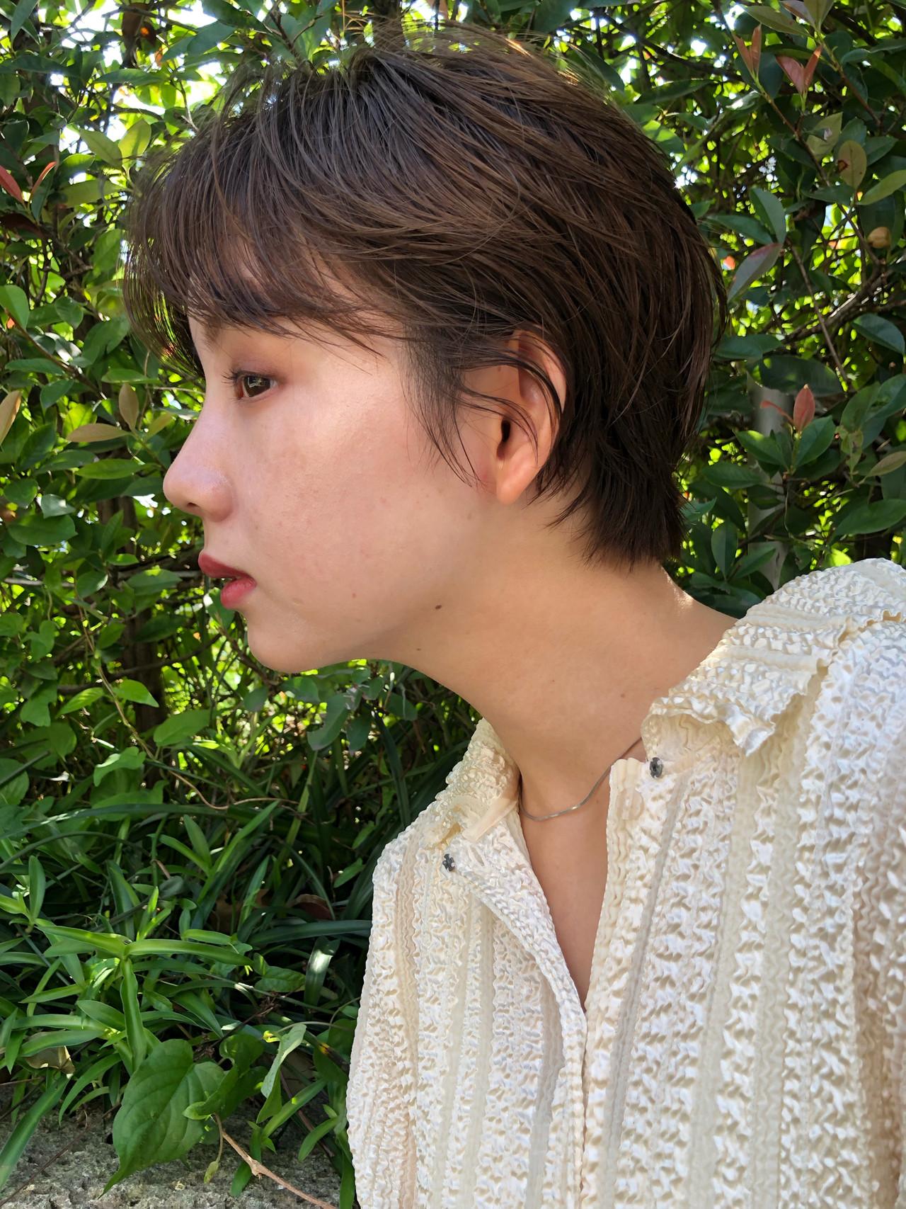 ショートボブ ショート ナチュラル ベリーショート ヘアスタイルや髪型の写真・画像 | Kohei assort tokyo / assort tokyo
