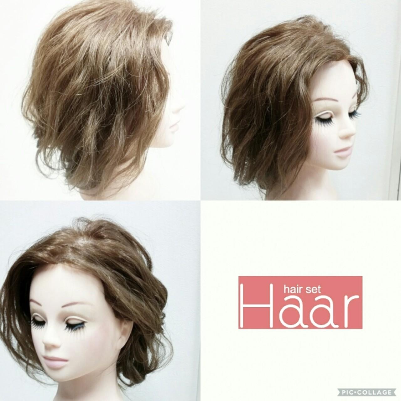 ヘアアレンジ ナチュラル こなれ感 大人女子 ヘアスタイルや髪型の写真・画像 | chinatsu / hair set haar
