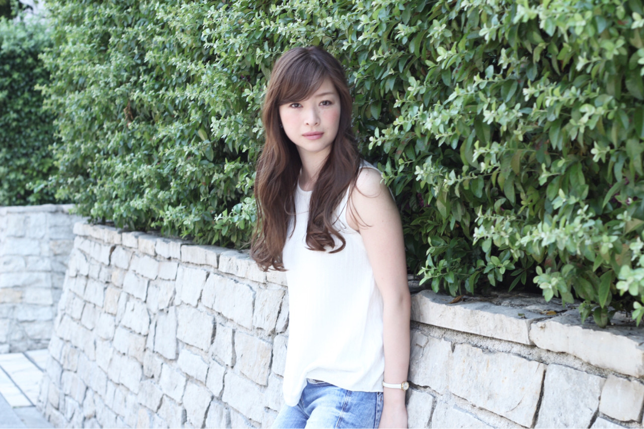 ピュア ロング コンサバ フェミニン ヘアスタイルや髪型の写真・画像 | 柳村 豊 / hug by merry