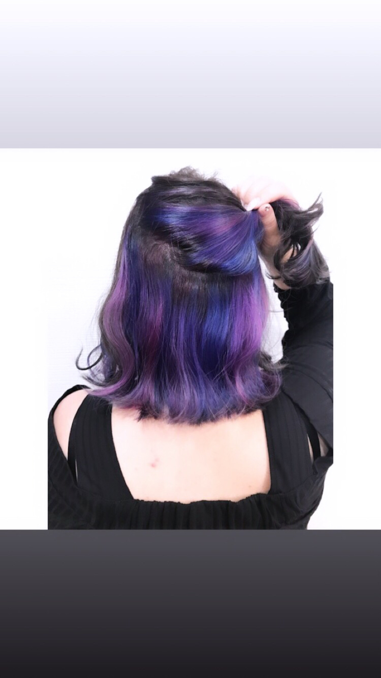 ストリート インナーカラー ミディアム ヘアアレンジ ヘアスタイルや髪型の写真・画像 | tetsu / earth 熊谷店