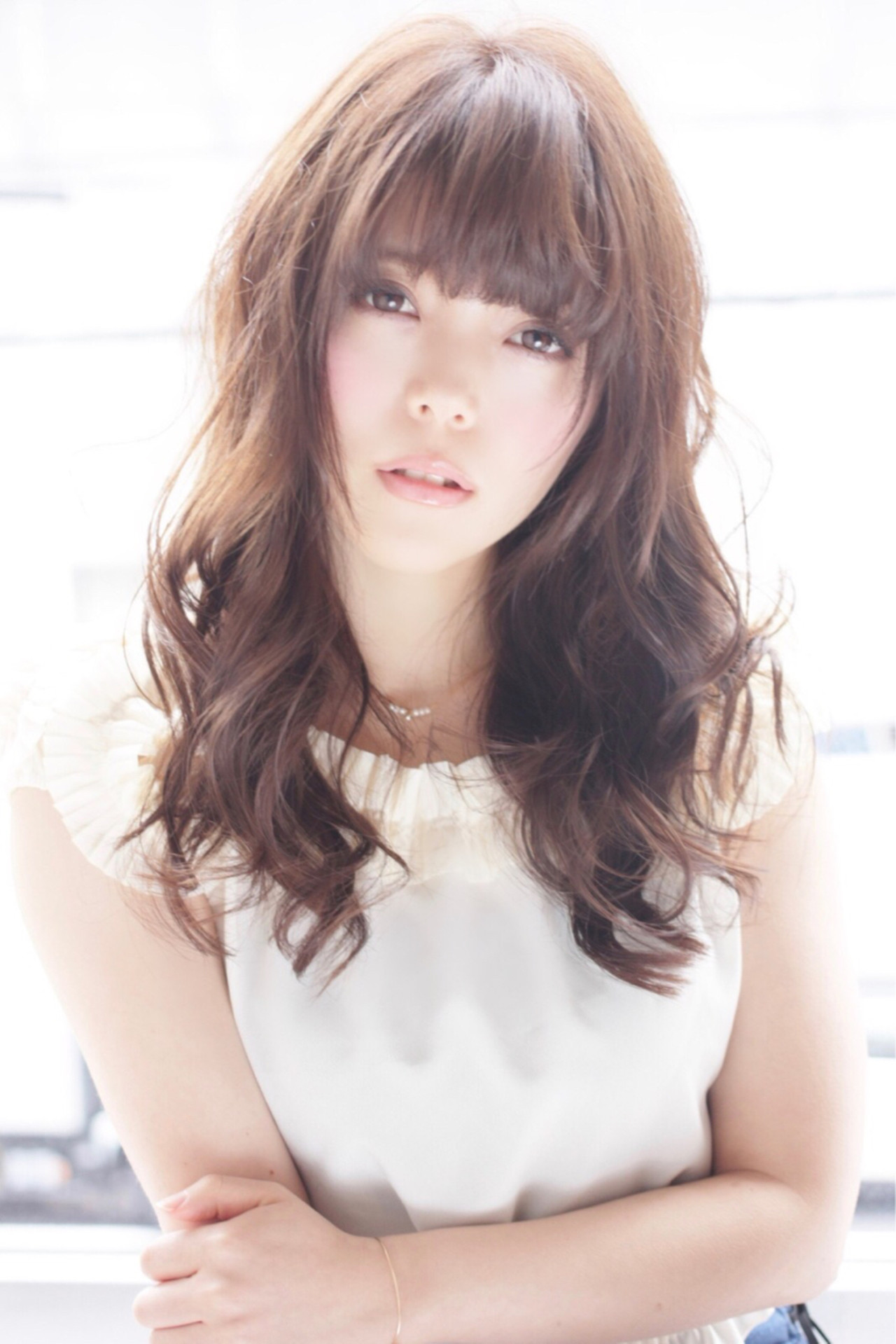 愛され モテ髪 大人かわいい おフェロ ヘアスタイルや髪型の写真・画像 | 山田 あかり /