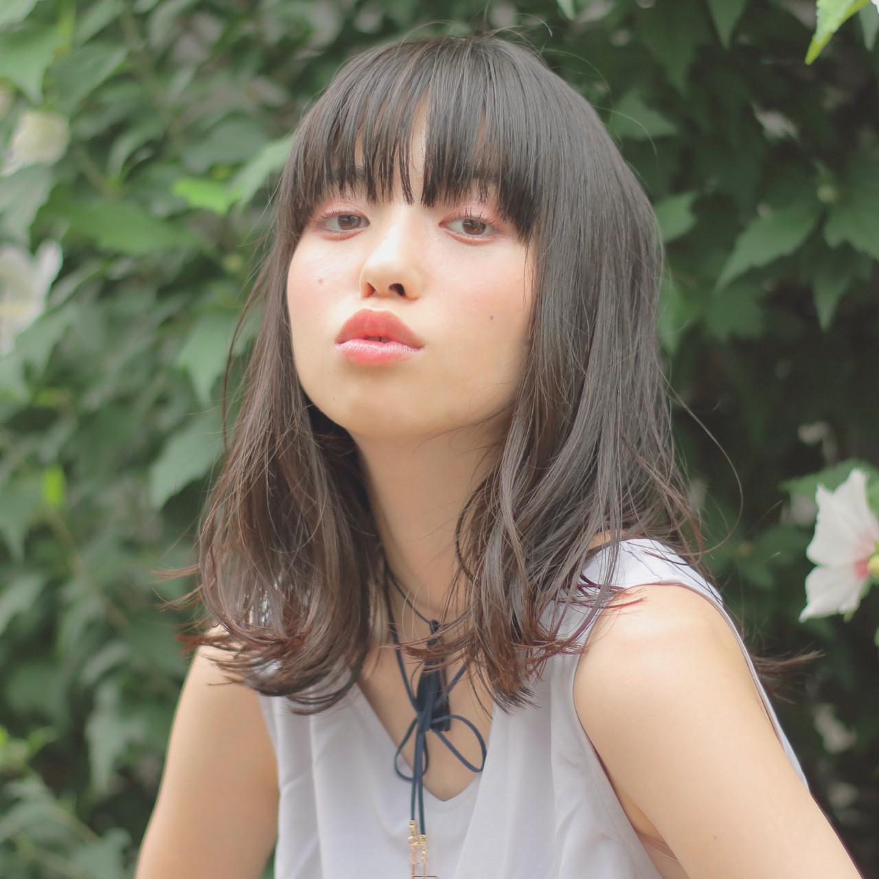 黒髪×パーマで作る媚びない夏の大人女子特集♡ 阿部隆幸